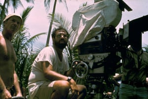 Francis Ford Coppola shooting Apocalypse Now
