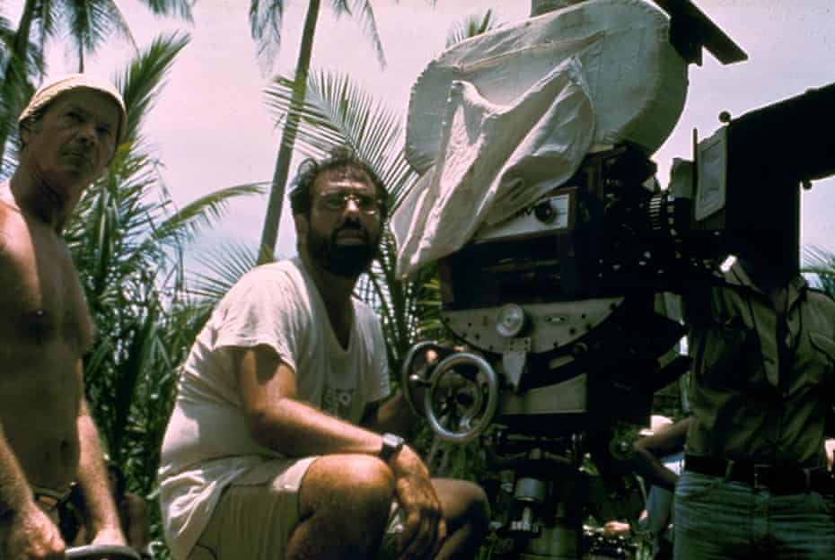Francis Ford Coppola shooting Apocalypse Now