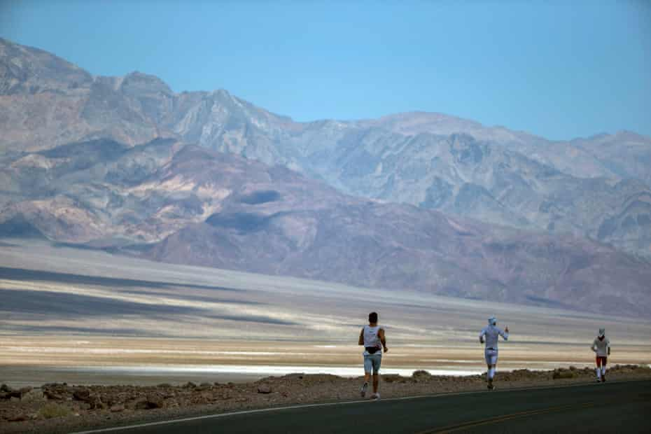 The ultramarathon, which bills itself as the toughest running race in the world, runs from Death Valley to Mount Whitney in California.