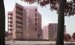 CGI: Lion Green, Coulsdon, by Mary Duggan Architects.