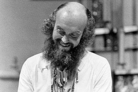 Baba Ram Dass on 2 January 1970 in San Francisco, California.