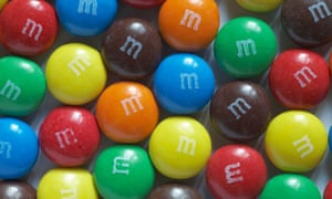 Melt-resistant M&Ms: red ones resist the heat for longest, no one knows why.