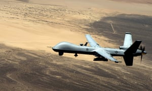 A US remotely piloted aircraft in Iraq, 2015.