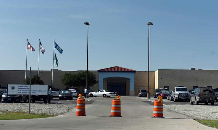 A man died by apparent suicide while detained at the Karnes county residential center in south Texas.
