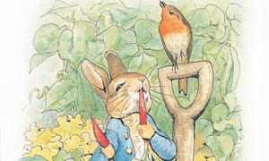 BBC Radio 4 - Rabbiting OnPicture Shows: The Original Peter Rabbit. Nick Baker charts the history of the rabbit as icon, to mark the centenary of the publication of Beatrix Potter's first Peter Rabbit story. PHOTOGRAPH (C): Penguin Books TX: BBC Radio 4 Saturday 5 October 2002 @ 20.00 WARNING: This copyright image may be used only to publicise current BBC programmes or other BBC output. Any other use whatsoever without specific prior approval from the BBC may result in legal action.