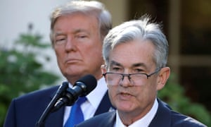 Image result for image of Trump and Powell