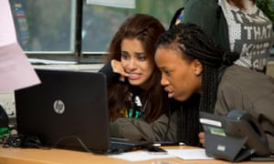 Students going though the UCAS clearing process