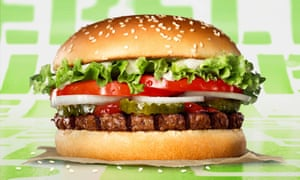 """Burger King's plant-based Whopper is aimed at """"flexitarians""""."""