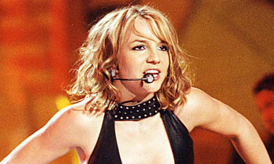 Taking control … Britney Spears.