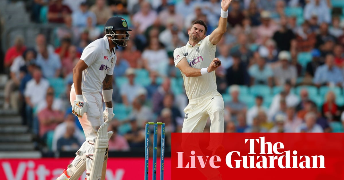 England lead India by 99 runs after first innings: fourth Test, day two – live!