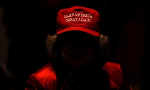 A supporter of Trump and Republican senate candidate