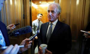 Bob Corker said: 'I believe that this once-in-a-generation opportunity to make US businesses domestically more productive and internationally more competitive is one we should not miss.'