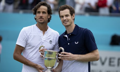 Andy Murray may return to singles after winning Queen's doubles – video