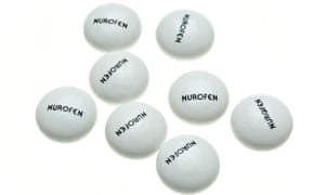 Nurofen … different types contain identical active ingredients