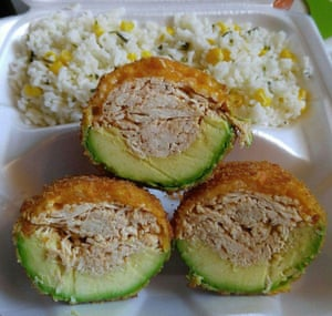 Mariza Ruelas said she sold her signature chicken stuffed fried avocado dish to try and raise money for her legal costs.