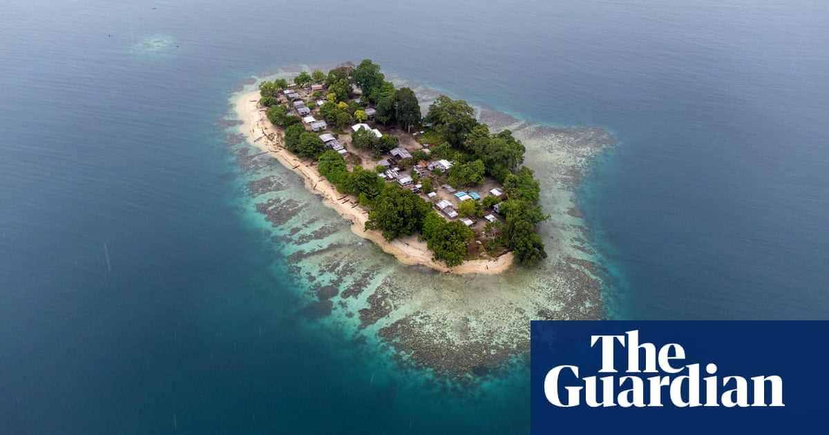 'My father will go down like the captain of the Titanic': life on the Pacific's disappearing islands