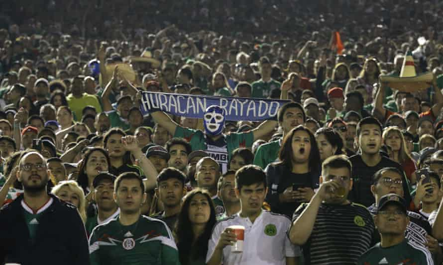 Mexico fans have turned out in huge numbers for their team's games