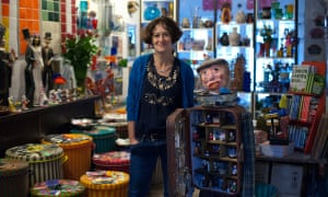 Juliette Tuke, owner of Milagros which imports handmade Mexican products, is working with the East End Trades Guild to stage events for Small Business Saturday.