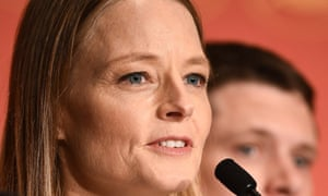 Jodie Foster at the Money Monster press conference