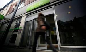 A job centre plus in London, U.K.