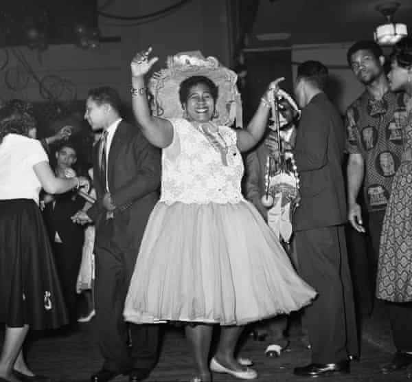 Caribbean carnival … Claudia Jones' event at St Pancras town hall in 1959.
