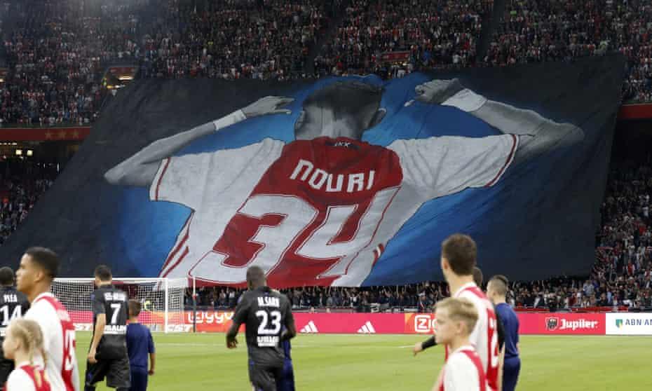 A banner of Abdelhak Nouri.