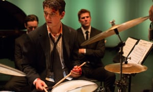 Miles Teller in Whiplash.