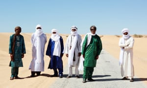 Heartfelt and forceful delivery … Tinariwen.