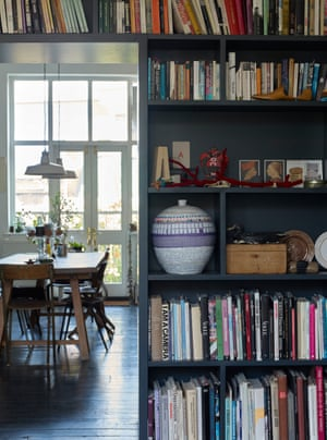 Ally Capellino book shelves