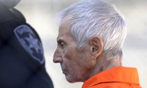 Robert Durst, pictured on 17 March 2015 in Louisiana, could now face a murder charge in Los Angeles.