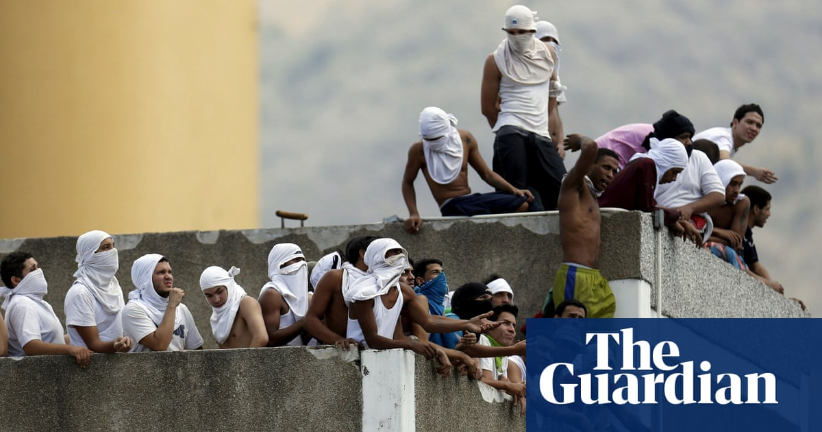 Riot in Venezuela prison kills at least 40 and injures 50, including warden