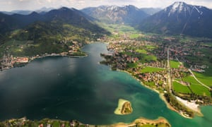Tegernsee's stunning surroundings make it a very popular spot