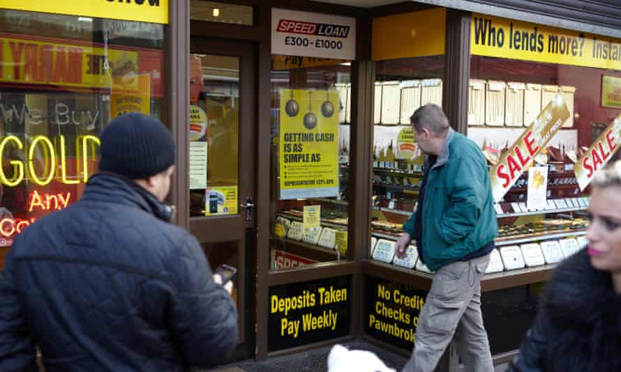 Payday loan shop