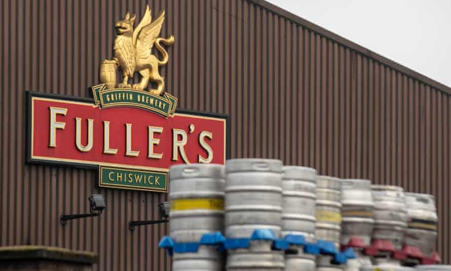 Fuller's Griffin brewery in Chiswick