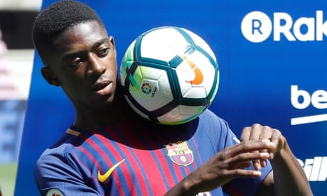 Barcelona is the best club in the world, says Ousmane Dembélé after €147m move