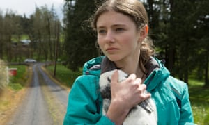 Thomasin McKenzie in Leave No Trace.