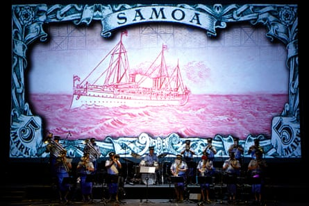 Siamani Samoa at Carriageworks gallery, Sydney