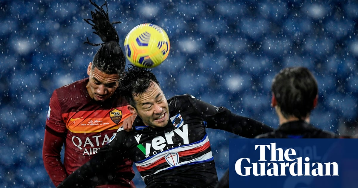 Chris Smalling's return gives Roma hope for Manchester United clash | Nicky Bandini