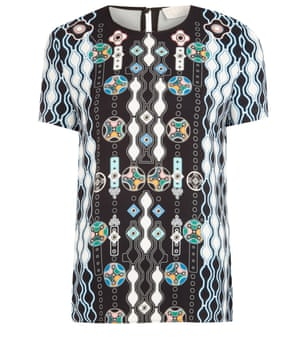 "£360 by Peter Pilotto from <a href=""http://www.liberty.co.uk/fcp/product/Liberty//Black-Abstract-Print-Shell-Top/124914"">liberty.co.uk </a>"