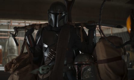 The Mandalorian ... 'If you put one mark on him there is nowhere you will be able to hide from me.'