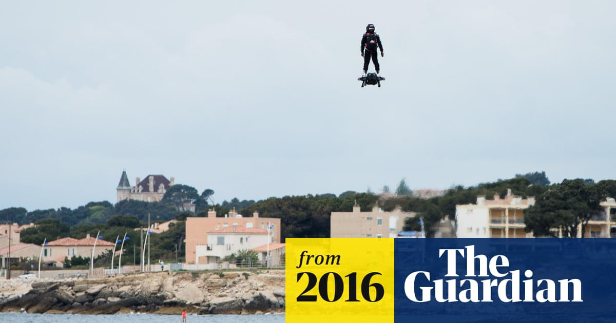 Hoverboard world record broken with 2km flight