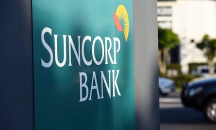 Suncorp sign