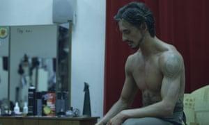 Sergei Polunin in the documentary Dancer.
