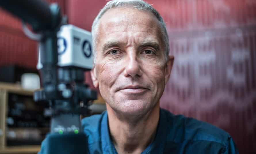Broadcaster Eddie Mair: 'Podcasts still worry me.'