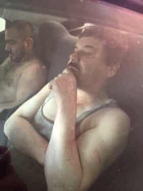 El Chapo after capture.