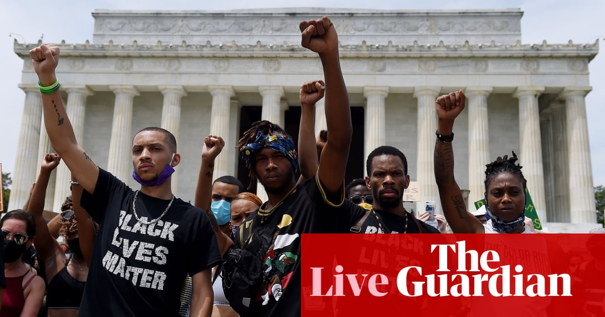 George Floyd: Barr denies police are systemically racist as protests sweep US – live