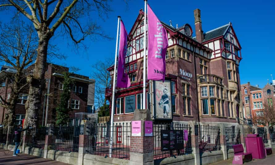 The Moco museum in Amsterdam.