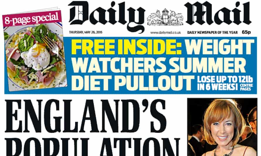 Daily Mail: print revenues fell 16% in the six months to the end of March.