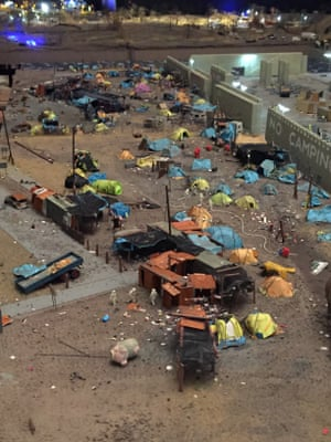 A tent city in The Aftermath Dislocation Principle