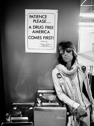 'People who wanted to be like him ended up dead' … Keith Richards at US customs in 1972.